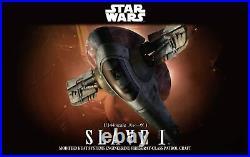BANDAI Star Wars Slave I 1/144 Plastic Model Kit Boba Fett Empire Strikes Back