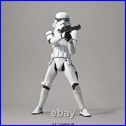 BANDAI Star Wars Stormtrooper 1/6 Scale Kit Plastic Model JAPAN OFFICIAL IMPORT