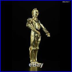 BANDAI Star Wars The Last Jedi C-3PO & R2-D2 1/12 Scale Kit Plastic Model JAPAN