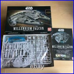 BANDAI Star Wars The Last Jedi MILLENIUM FALCON 1/144 Plastic Model NEW