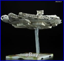 BANDAI Star Wars The Last Jedi Millennium Falcon 1/144 Model Kit MADE IN JAPAN