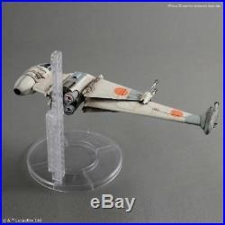 B-Wing Starfighter Modellbausatz 1/72 Bandai, Star Wars Episode VI, Model Kit