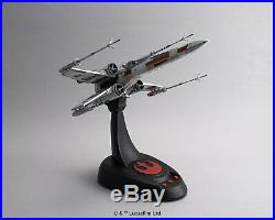 Bandai 196419 Star Wars X-Wing Starfighter Moving Edition 1/48 Scale Model Kit