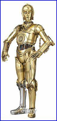 Bandai 1/12 Scale Model Kit Star Wars C-3PO Protocol Droid Humanoid Robot