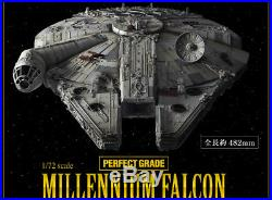 Bandai 1/72 Star Wars A New Hope Millennium Falcon Perfect Grade BAN216384