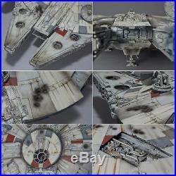 Bandai 216384 Star Wars Millennium Falcon Perfect Grade Plastic Model Kit 1/72