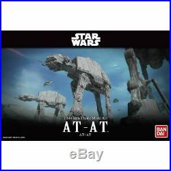 Bandai Hobby Star Wars AT-AT 1/144 Scale Model Kit Empire Strikes Back Walker