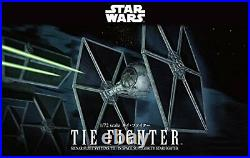 Bandai Hobby Star Wars Tie Fighter 1/72 Scale Plastic Model Kit F/S withTracking#