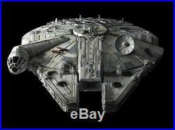 Bandai LED 1/72 Millennium Falcon Perfect Grade Star Wars Scale Model Kit 216384