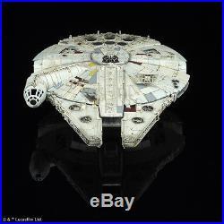 Bandai Millennium Falcon 1/144 Scale Model Kit STAR WARS UK Seller