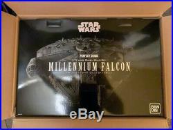 Bandai Perfect Grade Star Wars Millennium Falcon 1/72 Scale Model Kit