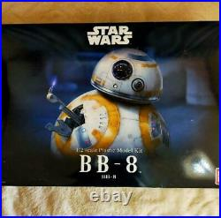 Bandai STAR WARS 1/2 BB-8 13in=33.5cm Mega-sized LED+Display model kit FS Japan