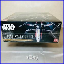 Bandai STAR WARS 1/48 Scale X-WING Starfighter Moving Edition Model Kit Space