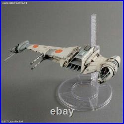 Bandai STAR WARS 1/72 B-Wing Starfighter Plastic Model Kit Figures Toy Wing