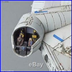 Bandai Solo A Star Wars Story Millenium Falcon 1/144 Model Kit Uk Stock