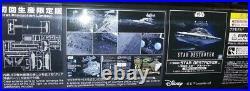Bandai Star Wars 15000 Scale Star Destroyer plastic Model Kit 5057625 New