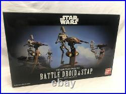 Bandai Star Wars 1/12 Battle Droid & STAP Plastic Model Kit The Phantom Menace