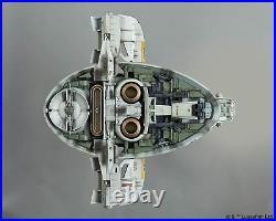 Bandai Star Wars 1/144 Slave I Boba Fett Plastic Model Kit Empire Strikes Back
