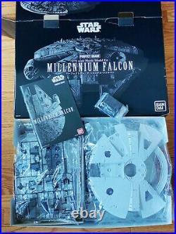 Bandai Star Wars 1/72 Perfect Grade Millennium Falcon Model Kit ANH ESB Model