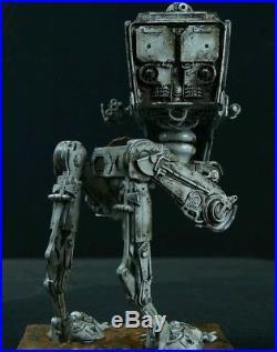 Bandai Star Wars AT-ST 1/48 Scale Model Custom Painted & Pro Built LED Lighting