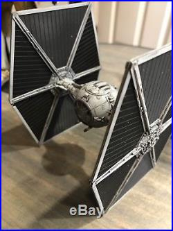 Bandai Star Wars AT-ST & Tie Fighter Built & Painted- Empire Sideshow Hot Toys