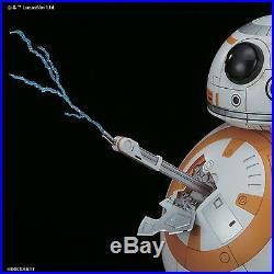Bandai Star Wars BB-8 1/2 Scale Plastic Model Kit The Force Awakens New