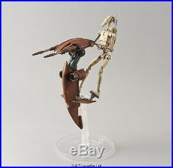 Bandai Star Wars Battle Droid & Stap 1/12 Plastic Model Kit F/S From Japan