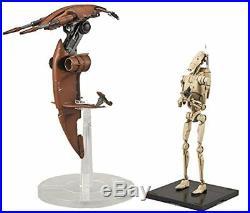 Bandai Star Wars Battle Droid & Stapp 1/12 Scale Plastic Model Kit