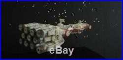 Bandai Star Wars Blockade Runner Model Kit zusammengebaut & bemalt