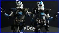 Bandai Star Wars Clone Arc Trooper Echo Custom Painted 1/12 Scale Figure Model
