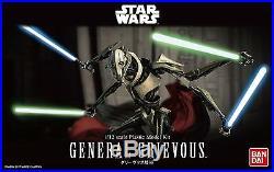 Bandai Star Wars General Grievous 1/12 Plastic Model Kit F/S from JAPAN