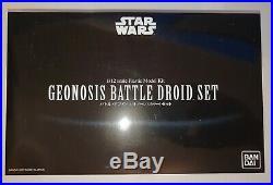 Bandai Star Wars Geonosis Battle Droid Plastic Model Kit 1/12 Scale Japan