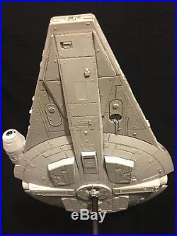 Bandai Star Wars Millennium Falcon Lando Calrissian Ver. Model BUILT + LIGHTS