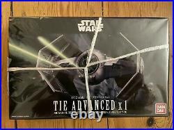Bandai Star Wars Modell Kits 172 4 Modelle X-Wings & Tie Fighter neu