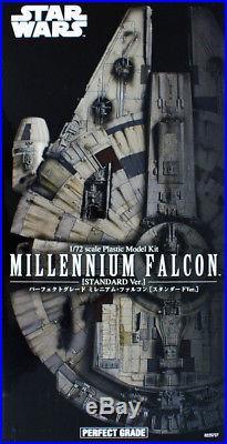 Bandai Star Wars PG Millennium Falcon Standard Ver. 1/72 Scale Kit 257271