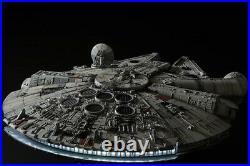 Bandai Star Wars Perfect Grade Millennium Falcon 1/72 Scale Model Kit In Box