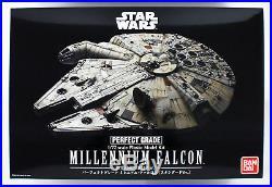 Bandai Star Wars Perfect Grade Millennium Falcon Standard 1/72 Scale Kit 257271