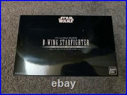 Bandai Star Wars SDCC B-Wing Limited Edition 1/72 scale model with LED kit