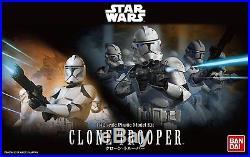 Bandai Star Wars Series 1/12 Scale Trooper Model Kit Set