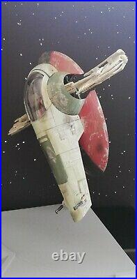 Bandai Star Wars Slave 1 1/144 Model Kit zusammengebaut & bemalt