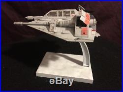 Bandai Star Wars Snowspeeder Model 1/48 Scale FULLY BUILT & PAINTED