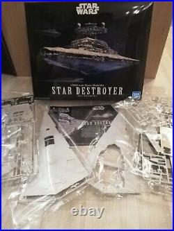 Bandai Star Wars Star Destroyer 1/5000 Model Kit zusammengebaut & bemalt