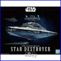 Bandai Star Wars Star Destroyer 1/5000 Scale Model Kit Hobby Kit USA Seller