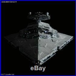 Bandai Star Wars Star Destroyer LED Lighting Ver. 1/5000 Scale Model Kit USA