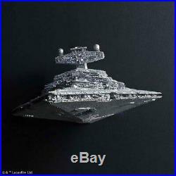 Bandai Star Wars Star Destroyer Lighting Model LED 1/5000 Scale Kit in stock