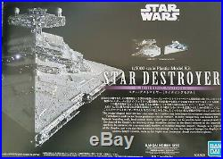 Bandai Star Wars Star Destroyer Limited Edition 1/5000 Scale Model Kit Very Rare