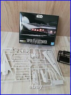 Bandai Star Wars Super Star Destroyer 1/100,000 Model Kit zusammengebaut&bemalt