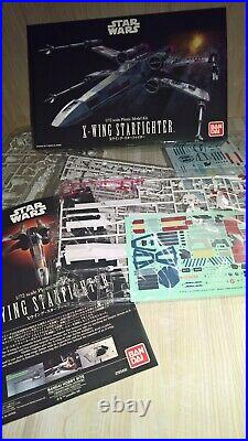 Bandai Star Wars X-Wing 1/72 Model Kit zusammengebaut & bemalt