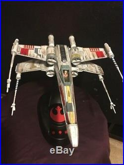 Bandai Star Wars X-Wing Model Moving Edition 1/48 FULLY BUILT LIGHT/EFFECTS