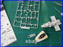 Bandai Star Wars Y Wing 1/72 Model Kit zusammengebaut & bemalt